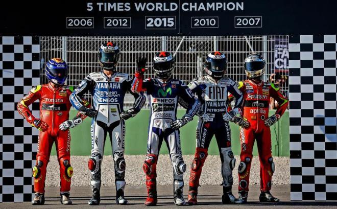 Juara Dunia MotoGP 2015