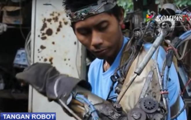 Tangan Robot Tawan